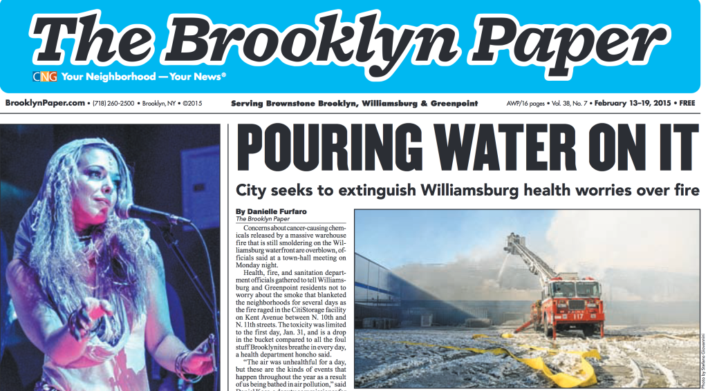 Brooklyn Paper Cover